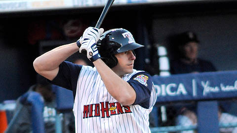 Brad Eldred has slugged 234 homers during an 11-year Minor League career.