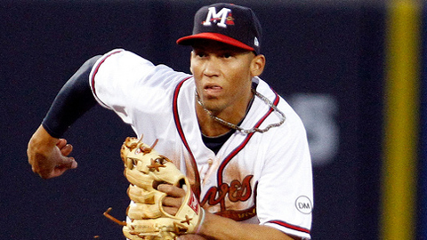 Andrelton Simmons is hitting .250 with five RBIs in 12 games.
