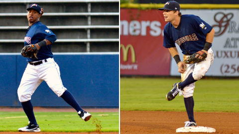 Jean Segura (shortstop) and Scooter Gennett (second base) form quite the combo.